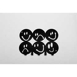 Concept Lifes Smiley Anahtar Askılığı