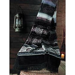 Suave Cotton Drops Pamuk Tek Kişilik Battaniye - Siyah