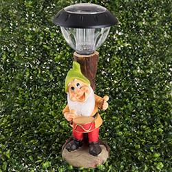 Simple Living 006 Cüce Figürlü Solar Lamba