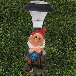 Simple Living 017 Cüce Figürlü Solar Lamba