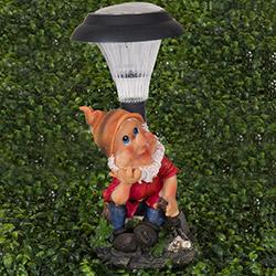 Simple Living 018 Cüce Figürlü Solar Lamba