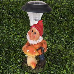 Simple Living 004 Cüce Figürlü Solar Lamba