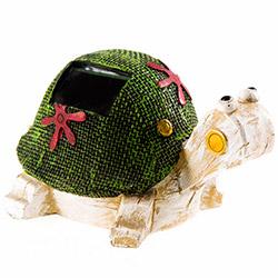 Simple Living Kaplumbağa Figürlü Solar Lamba - Yeşil
