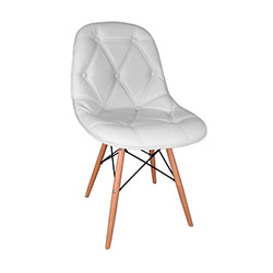 Vitale Kimera Sandalye - Beyaz