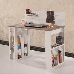 Adetto Kuvars Çalışma Masası - Beyaz / Patara