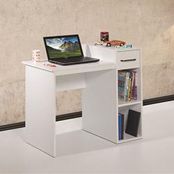 Adetto Rutil Çalışma Masası - Beyaz