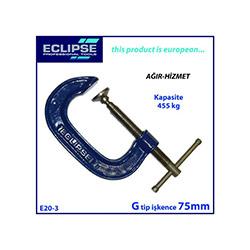 Eclipse E20-3 G Tip Ağır Hizmet İşkence - 75 mm