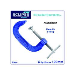 Eclipse E20-4 G Tip Ağır Hizmet İşkence - 100 mm