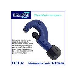Eclipse Ectc32 Teleskopik Boru ve Kablo Kesici 3-32 mm