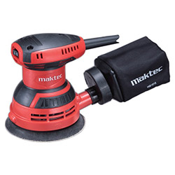 Maktec Mt924 Dairesel Titreşim Zımpara - 125 mm