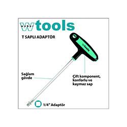 Weber Tools T Saplı Bits Lokma Tornavida - 1/4x110 mm