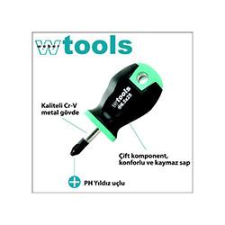 Weber Tools Yıldız Uçlu Topaç Tornavida - Ph1x25 mm