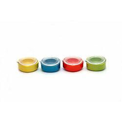 Keramika Anamur 4'lü Renkli Saklama Kabı