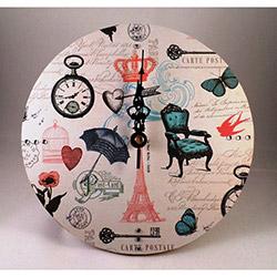 NB Sanat Vintage Le Café (447) Duvar Saati - 30x30 cm