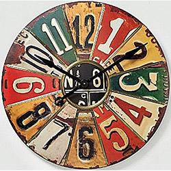 NB Sanat Vintage Le Café (465) Duvar Saati - 30x30 cm