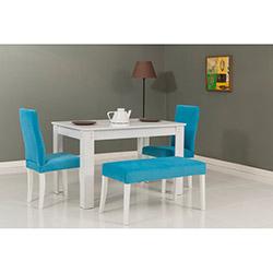 Mobetto Hanımeli Masa Sandalye Takımı - Mavi