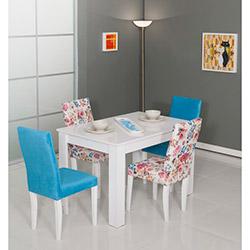 Modalife Manolya Masa Sandalye Seti - Mavi