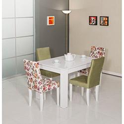 Modalife Manolya Masa Sandalye Seti - Yeşil