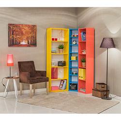 Mobetto Rio Kitaplık Seti - Sarı - Mavi - Pembe