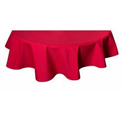 Aliz Yuvarlak Masa Örtüsü 140 cm - Kırmızım