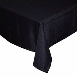 Aliz Masa Örtüsü (Siyah) - 160x220 cm