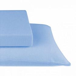 Elegans 177 Lastikli Penye Çift Kişilik Çarşaf Takımı - Mavi