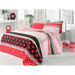 Elegans Puan Tek Kişilik Uyku Seti - Kırmızı