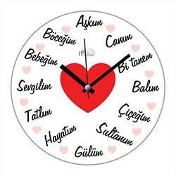 iF Clock SG3 Duvar Saati - 30 cm