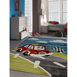 Merinos 746-040 Yarış Arabası Çocuk Halısı - 120x170 cm