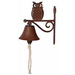 House2Home BT-H2HTT182 Antik Döküm Baykuş Kapı Çanı