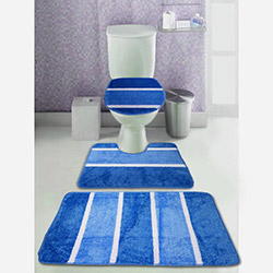 Comfort 3'lü Klozet Takımı - Mavi