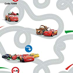 Halley 72599 Cars Roads Wallpaper Duvar Kağıdı