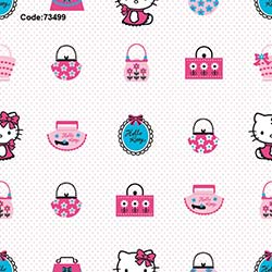 Halley 73499 Hello Kitty Bags Wallpaper Duvar Kağıdı