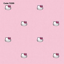Halley 73399 Hello Kitty Face Wallpaper Duvar Kağıdı