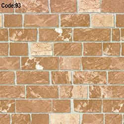 Halley 93 Tuğla Emboss Duvar Kağıdı