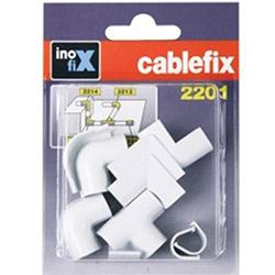Inofix 3210-2 Kablo Sabitleme Aparatı - Beyaz