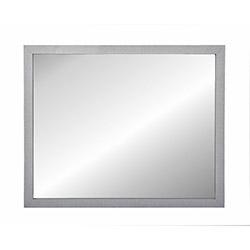 Simple Living M-12-W Dekoratif Ayna (Beyaz) - 55x45 cm