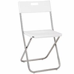 House Line Katlanır Sandalye - Beyaz