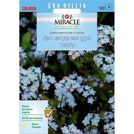 Miracle Mavi Unutma Beni Çiçeği Tohumu - 800 Tohum