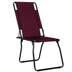 Simple Living Katlanabilir Kamp Sandalyesi - Bordo
