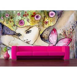 K Dekorasyon KD1410 Duvar Kağıdı - 225x270 cm