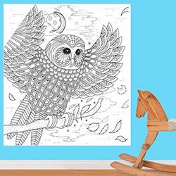 K Dekorasyon KDB1024 Boyanabilir Duvar Kağıdı (Kalem Hediyeli) - 0,9 m²