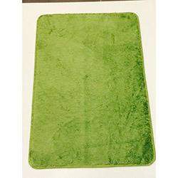 Verteks Velvet 011 Dekoratif Banyo Paspası (Yeşil) - 50x80 cm