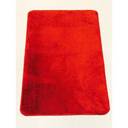 Verteks Velvet 03 Dekoratif Banyo Paspası (Kırmızı) - 50x80 cm