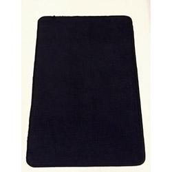 Verteks Velvet 09 Dekoratif Banyo Paspası (Siyah) - 50x80 cm