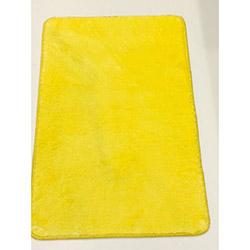 Vertesk Velvet 08 Dekoratif Banyo Paspası (Sarı) - 80x150 cm