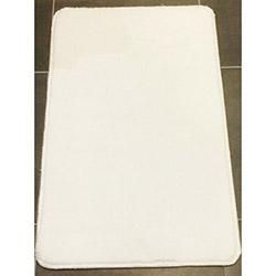 Verteks Velvet Dekoratif Halı (Beyaz) - 80x150 cm