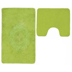 Verteks Madalyon 2'li Klozet Takımı - Yeşil