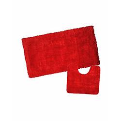 Verteks Safir 2'li Banyo Seti - Kırmızı