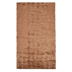 Verteks Soft Jel Taban Banyo Halısı (Kahverengi) - 80x120 cm